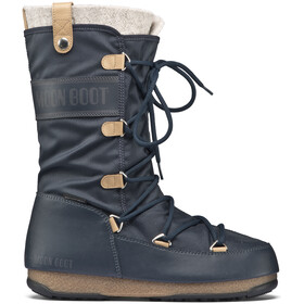 Moon Boot W.E. Monaco Felt WP Laarzen Dames blauw